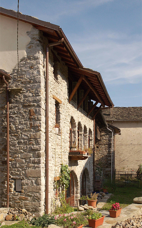 Case Di Montagna Architetto Davide Fornero Valchiusella